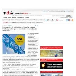 Los premios de publicidad en España: plagios, truchos y galas que se convierten en pruebas de resistencia