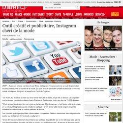 Outil créatif et publicitaire, Instagram chéri de la mode - 26/04/2015 - ladepeche.fr