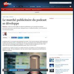 Le marché publicitaire du podcast se développe