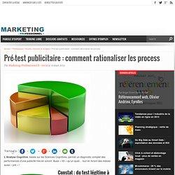 Pré-test publicitaire : comment rationaliser les process