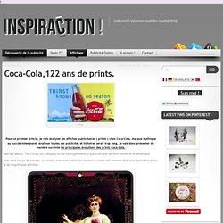 Coca-cola, 122 ans de print, analyse de l'évolution des affiches publicitaires