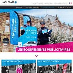 Equipements et espaces publicitaires Mobilboard : l'habillage des gyropodes Segway [ MOBILBOARD International ]