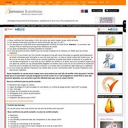 L'imprimerie Européenne à Rochefort Création graphique, réalisation de vos maquettes publicitaires, imprimerie en ligne pour les artisans, commerçants, et professionnels, conception de flyers, conception d'affiche, nous réalisons vos maquettes publi