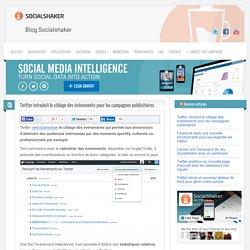 Twitter introduit le ciblage des évènements pour les campagnes publicitaires