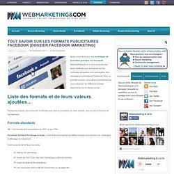 Tout savoir sur les formats publicitaires Facebook [Dossier Facebook Marketing]