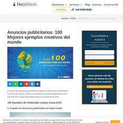 ▷ 100 Mejores Anuncios Publicitarios Creativos del Mundo