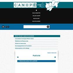 Publicité - Canopé de Lyon