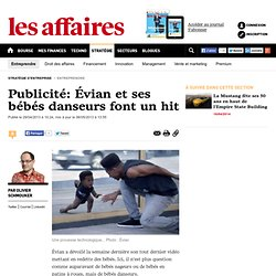 Publicité: Évian et ses bébés danseurs font un hit