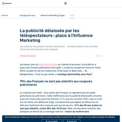La publicité délaissée : place à l'Influence Marketing