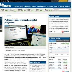 Publicité : seul le marché digital progresse