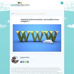 Publicité événementielle sur internet: réseaux sociaux, blogs, sites