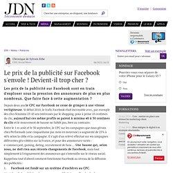 Le prix de la publicité sur Facebook s'envole ! Devient-il trop cher ? par Sylvain Eche ¿ Chronique e-Business