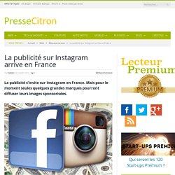 La publicité sur Instagram arrive en France