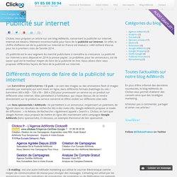 Publicité sur internet : Chiffres clés et Conseils