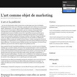 Publicité La Laitière ... Un exemple précis: