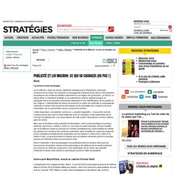 Publicité et loi Macron: ce qui va changer (ou pas !) - page 2