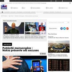 Publicité mensongère : Nokia présente ses excuses - High-Tech