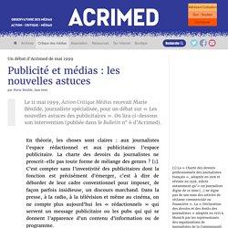 Publicité et médias : les nouvelles astuces