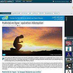 Publicité en ligne : opération rédemption