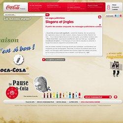 Publicité Coca-Cola. Slogan & Jingle publicitaire Coca-Cola