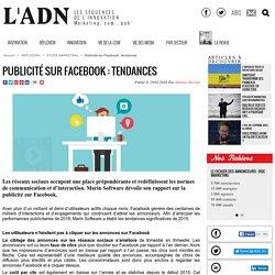 Publicité sur Facebook : tendances - Etude Marketing