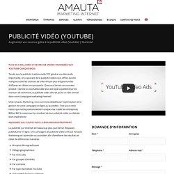Publicité Vidéo (Youtube)