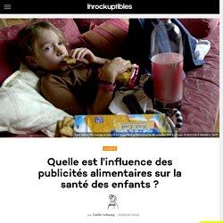 Quelle est l'influence des publicités alimentaires sur la santé des enfants ?