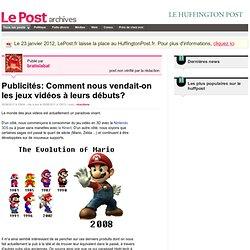 Publicités: Comment nous vendait-on les jeux vidéos à leurs débuts? - bratislabat sur LePost.fr (15:04)