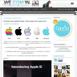 L'évolution des publicités Apple : Des années 70s à aujourd'hui !