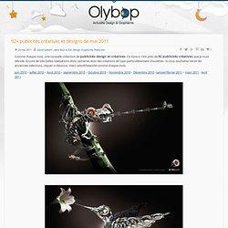 92+ publicités créatives et designs de mai 2011