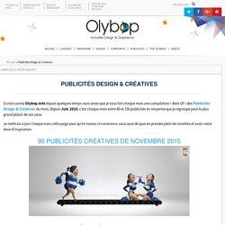 Publicités Design & Créatives