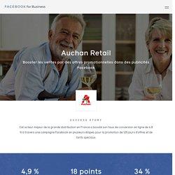 Auchan Retail : Étude de cas des publicités Facebook
