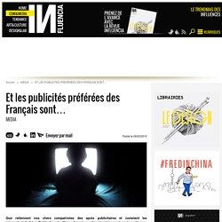 Et les publicités préférées des Français sont…