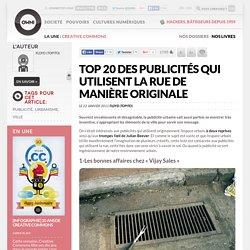 Top 20 des publicités qui utilisent la rue de manière originale » Article » OWNI, Digital Journalism