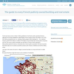 The guide to every French publicly-owned building and real estate
