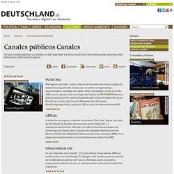 Canales públicos Canales - Deutschland.de - Su enlace digital con Alemania