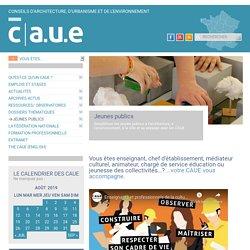 Jeunes publics / Le portail pédagogique de la FNCAUE - CAUE