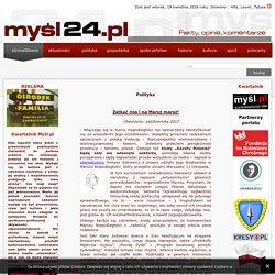 Myśl24.pl: Polityka: publicystyka i opinia prawicowa