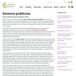 Domena publiczna – Koalicja Otwartej Edukacji