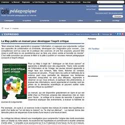 La Map publie un manuel pour développer l'esprit critique