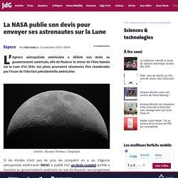 La NASA publie son devis pour envoyer ses astronautes sur la Lune