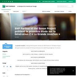 BNP Paribas et the Boson Project publient la première étude sur la Génération Z « La Grande InvaZion » - BNP Paribas