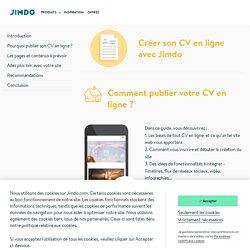 Publiez un site CV en ligne