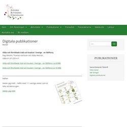 Digitala publikationer – Svenska Botaniska Föreningen