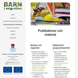 Publikationer och material