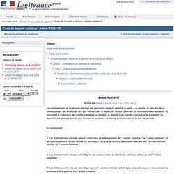 Code de la santé publique - Article R2324-17