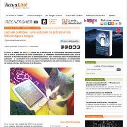 Lecture publique : une solution de prêt pour les bibliothèques belges