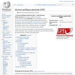 Licence publique générale GNU