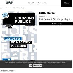 Les défis de l'action publique - Horizons Publics hiver 2018