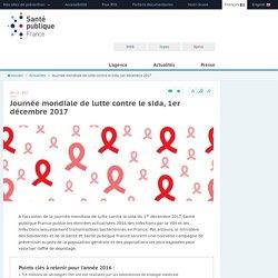 Santé publique France - Journée mondiale de lutte contre le sida, 1er décembre 2017